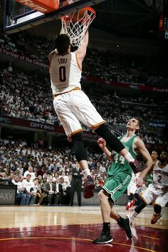 This lob from LeBron James to Kevin Love really set the tone for the Cavs in Game 2 of #CAVSvCELTICS... Tap to Watch!