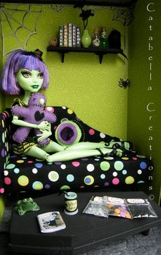 monster high doll house furniture - Google Search