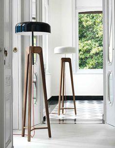 Pileo Floor Lamp, Transitional Living Room Design at Cassoni.com