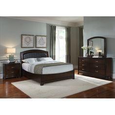 Avalon King Bedroom Suite at HOM Furniture