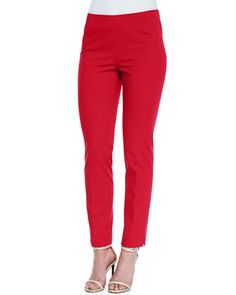 Stanton Cropped Ankle Pants, Dynamite by Lafayette 148 New York at Neiman Marcus.