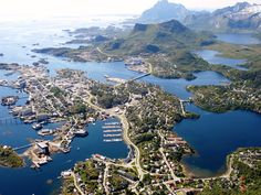 Svolvaer, Lofoten Islands, Norway