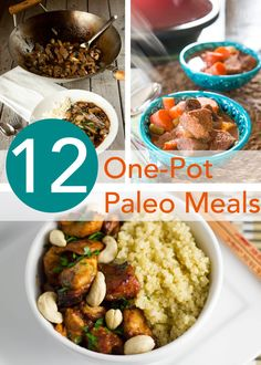 12 One-Pot Paleo Meals