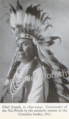 Cheif Joseph Native People Photogravure by SurrendrDorothy, via Flickr