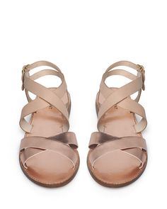 If I had all the money in the world, I'd buy all the Shoemint and Madewell sandals I can get my hands on.