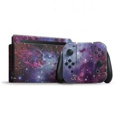 The Fox Fur Nebula Nintendo Switch Bundle Skin - Nintendo Switch Console - Ideas of Nintendo Switch Console - The Fox Fur Nebula Nintendo Switch Bundle Skin Mario Kart, Console, Oki Doki, Nintendo Switch Accessories, Gamecube Games, Game Happy, My Fantasy World, Nintendo Characters, Cute Games