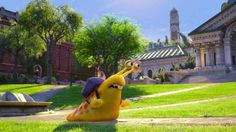 Running snail, in the movie: Monsters University (2013.)