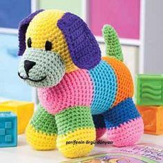 Mesmerizing Crochet an Amigurumi Rabbit Ideas. Lovely Crochet an Amigurumi Rabbit Ideas. Crochet World, Knit Or Crochet, Cute Crochet, Crochet For Kids, Crochet Crafts, Crochet Toys, Scrap Yarn Crochet, Flower Crochet, Beautiful Crochet