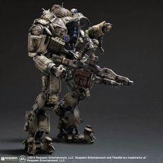 SQUARE ENIX: PLAY ARTS Kai [TITANFALL] Atlas - New Images & Release Info