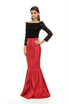 Saia Longa Sereia Vermelha - roupas-saias-iorane-f-saia-longa-sereia-vermelha Iorane