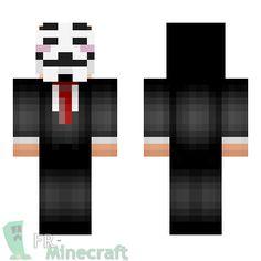 Aperçu de la skin Minecraft Anonymous
