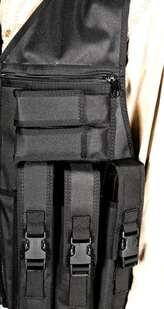 P90 Prepper Vest pouches All TheVestGuy.com products are made to order so each can be modified to meet your specific needs. Manufactured in the USA, backed by a workmanship lifetime warranty. The Vest Guy, the nation's leader for quality vests.