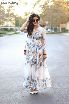 Some fall leaves for the weekend! Western Dresses For Women, Frock For Women, Curvy Outfits, Chic Outfits, Casual Frocks, Casual Gowns, Frock Fashion, Long Shirt Dress, Mode Hijab