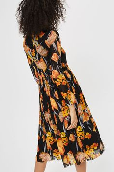 788c9cf45d25   Floral Midi Dress by YAS - New In Dresses - New In