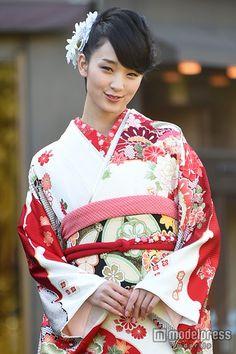 Ayame Gouriki / 剛力彩芽 - in kimono 着物