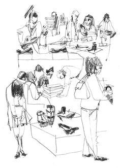 Urban Sketchers: Hard To Say....