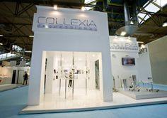 COLLEXIA @ Cosmoprof / Bologna. Exhibit Design, Exhibition Booth, Booth Design, Bologna, Photo Wall, Home Decor, Photograph, Decoration Home, Room Decor