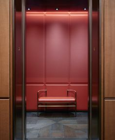 Yabu Pushelberg - Work Nendo Design, Elevator Door, Yabu Pushelberg, Lifted Cars, Residential Interior Design, Hotel Interiors, Home Room Design, House Rooms, My House