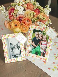 Fingerprint-Embellished Frames - DIY Mother's Day Gifts Mom Will Love on HGTV