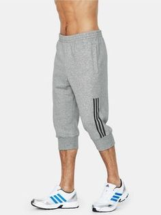 adidas Mens Three-quarter Sweat Pants @ Very - 5th village