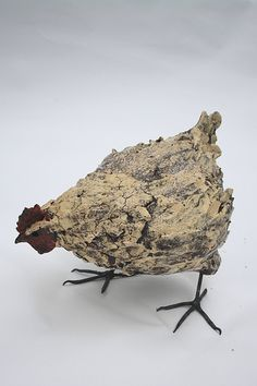 life size hen by Joe lawrence art work, via Flickr