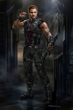 The Avengers- Hawkeye 02 by andyparkart.deviantart.com on @deviantART