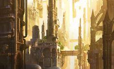 ArtStation - Making of Gothic future, Lina Sidorova