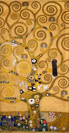 El árbol de la vida-Gustave Klimt