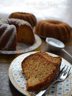 Hazelnut Bundt Cake ... just think how delish this would be with a Nutella ganache drizzled on top ...