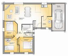 Maison - Lumina 89 G - Maisons France Confort - 89 m2 | Faire construire sa maison