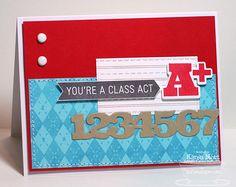 Class Act card by Karen Motz