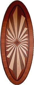 Hardwood Floor Medallion Americana Oval 36""