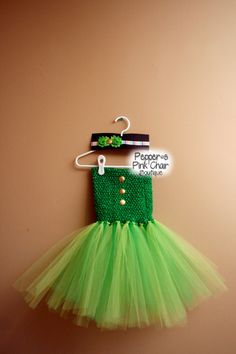 Girls St. Patricks Day Tutu Dress and by PeppersPinkChair on Etsy
