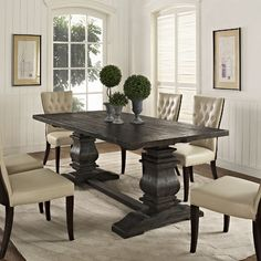 Found it at Wayfair - List Dining Table