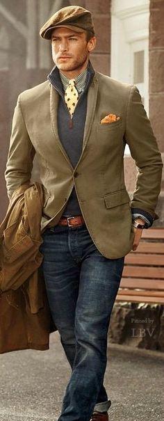 Ralph Lauren ♥✤ All the way   Raddest Men's Fashion Looks On The Internet: http://www.raddestlooks.org
