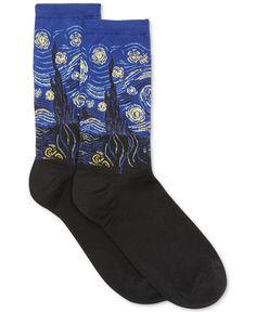 Hot Sox Starry Night Trouser Socks