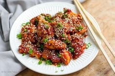 This recipe is a total winner and will please both chicken and chilli lovers. It's inspired by the ever-so-popular Korean Fried Chicken (a different kind of KFC), which is crispy deep-fried chicken sm