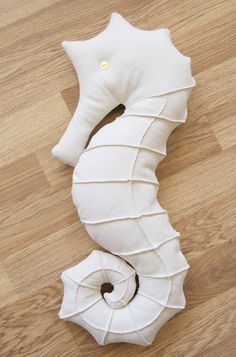 Seahorse pillow :) that can also be a stuff toy
