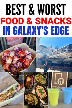 The Best and Worst Food and Snacks in Star Wars: Galaxy's Edge in Disneyland. Here are all the things you should try and the food you should skip when visiting Batuu! Disneyland Paris, Best Disneyland Food, Disneyland Dining, Disneyland Secrets, Disneyland Resort, Best Disneyland Restaurants, Disneyland Honeymoon, Disneyland Birthday, Disney Snacks