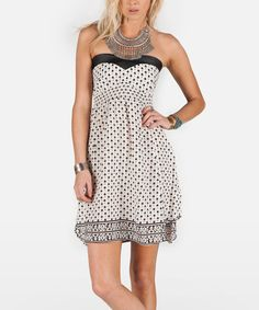 Another great find on  zulily! Black Don t Hate Dress by Volcom   b6a4a1cd1
