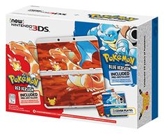Nintendo Pokemon 20th Anniversary Edition New Nintendo 3DS http://gamegearbuzz.com/nintendo-pokemon-20th-anniversary-edition-new-nintendo-3ds/