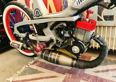 Custom Moped, Custom Bikes, Bmx, Motocross, Scooter 50cc, Mini Chopper, Engin, Old Bikes, Mini Bike