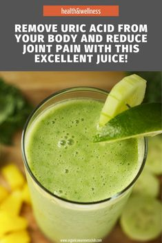 Remove Uric Acid From Your Body And Reduce Joint Pain With This Excellent Juice! Healthy Juices, Healthy Tips, Natural Cures, Natural Health, Home Remedies For Allergies, Juicing Benefits, Uric Acid, Eating Organic, Fitness Nutrition