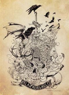 Sketch Stories - GoT  https://www.facebook.com/sketchystoriesblog