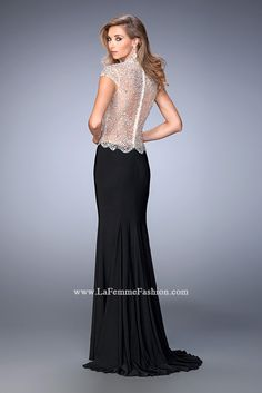 Look red-carpet-ready in Gigi Prom Style 22648 available at WhatchamaCallit Boutique