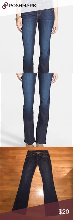 Vigoss Collection Bootcut Dark Wash Jeans Very nice trendy bootcut jeans. Worn once. Comfortable and fit is accurate. Vigoss Jeans Boot Cut