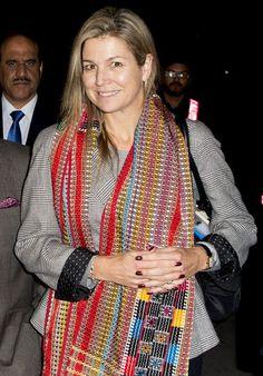 <p>Bei ihrer Ankunft in Islamabad, Pakistan, trug Königin Maxima absolut…