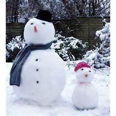 Yay lets go build snowmen