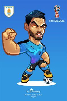 Russia 2018 Luis Suarez Cute Football Players, Football Art, Soccer Players, Team Wallpaper, Cute Panda Wallpaper, Board Skateboard, Messi And Neymar, Barcelona Players, Fc Barcelona