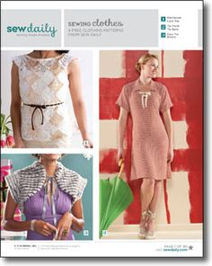 Download your free sewing clothes eBook.